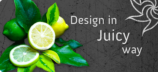 Design in juicy way
